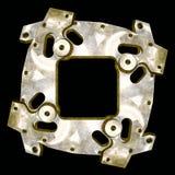 Herramienta automotora como marco industrial Imagen de archivo