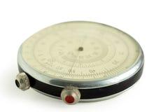 Herramienta circular matemática vieja Fotografía de archivo libre de regalías