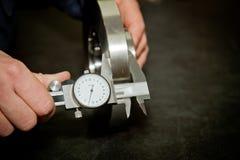 Herramienta de la medida de alta precisión Foto de archivo libre de regalías