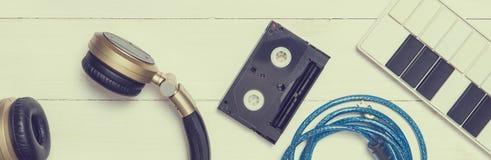 Herramienta de la producción de la música en tono del vintage Foto de archivo libre de regalías