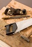 Herramienta de los carpinteros Imagen de archivo libre de regalías