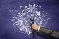 Herramienta de Spannel disponible Imagen de archivo libre de regalías