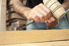 Herramienta del carpintero Fotografía de archivo libre de regalías