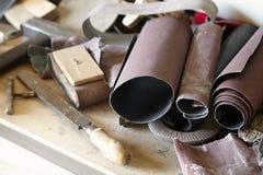 Herramienta del carpintero Imagen de archivo libre de regalías