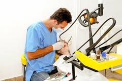 Herramienta del dentista Imagen de archivo