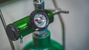 Herramienta del instrumento de la v?lvula de gas del laboratorio imagen de archivo libre de regalías