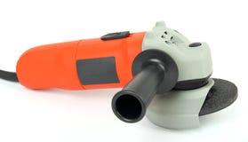 Herramienta eléctrica con la muela abrasiva Imagen de archivo libre de regalías