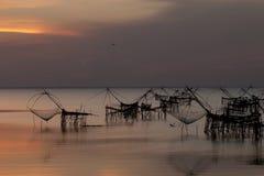 Herramienta local de la pesca, Tailandia foto de archivo libre de regalías