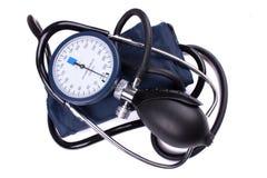 Herramienta médica manual de la presión arterial Fotos de archivo libres de regalías