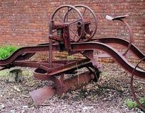 Herramienta muy vieja de la granja Foto de archivo libre de regalías