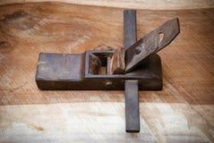 Herramienta plana de madera Foto de archivo libre de regalías