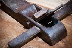 Herramienta plana de madera Foto de archivo