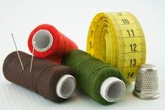 Herramientas de costura 1 Foto de archivo libre de regalías