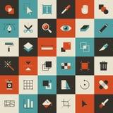 Herramientas de diseño Foto de archivo