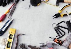 Herramientas de DIY Foto de archivo libre de regalías