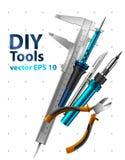 Herramientas de DIY Imagen de archivo