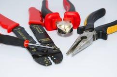 Herramientas de Electrician's Imagen de archivo libre de regalías