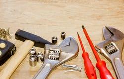 herramientas de funcionamiento Foto de archivo libre de regalías