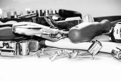 herramientas de funcionamiento Fotografía de archivo