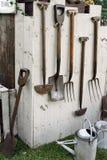 Herramientas de jardín Fotos de archivo