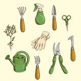 Herramientas de jardín Fotografía de archivo