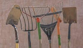 Herramientas de jardín Foto de archivo libre de regalías