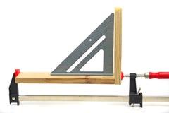 Herramientas de la artesanía en madera imagen de archivo