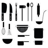 Herramientas de la cocina Foto de archivo