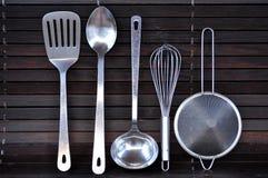 Herramientas de la cocina Fotos de archivo libres de regalías