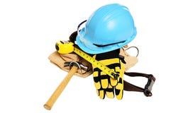 Herramientas de la construcción Imagen de archivo libre de regalías