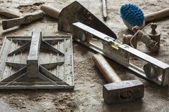 Herramientas de la construcción Fotografía de archivo libre de regalías