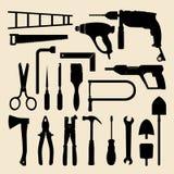 Herramientas de la construcción Foto de archivo libre de regalías