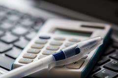 Herramientas de la contabilidad Foto de archivo