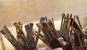 Herramientas de la creatividad Fotos de archivo libres de regalías