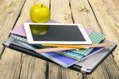 Herramientas de la educación Imagen de archivo libre de regalías