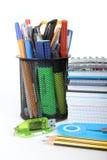 Herramientas de la escuela Imagen de archivo libre de regalías