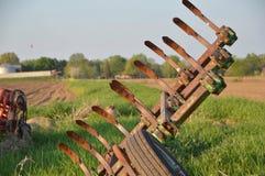 Herramientas de la granja Fotografía de archivo