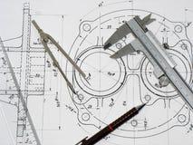 Herramientas de la ingeniería Imagen de archivo