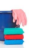 Herramientas de la limpieza Imagenes de archivo