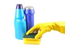 Herramientas de la limpieza Foto de archivo libre de regalías