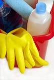 Herramientas de la limpieza Fotografía de archivo libre de regalías