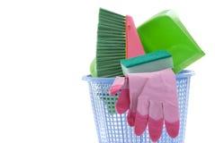 Herramientas de la limpieza imagen de archivo libre de regalías