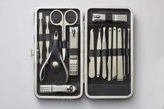 Herramientas de la manicura de la belleza Fotografía de archivo