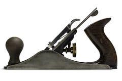 Herramientas de la mano de la carpintería - avión del hierro Imagenes de archivo