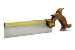 Herramientas de la mano de la carpintería - sierra de la cola de milano Fotografía de archivo