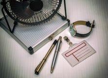 Herramientas de la oficina Fotografía de archivo