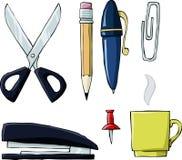 Herramientas de la oficina libre illustration