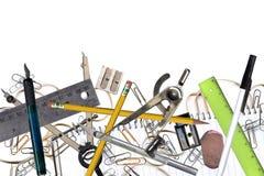 Herramientas de la oficina imagenes de archivo