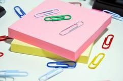 Herramientas de la oficina Foto de archivo libre de regalías