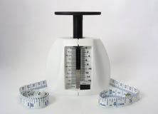 Herramientas de la pérdida de peso Fotos de archivo libres de regalías